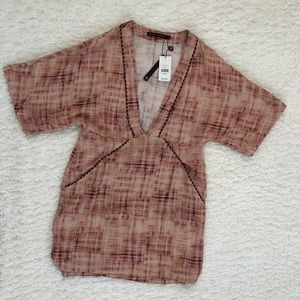 NWT VIX Paula Hermanny Coverup Dress